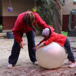 Learner taking part in Kids Kinetics