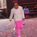 Learners taking part in Kids Kinetics 3
